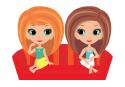 אייקון בנות בסלון של עינבר שוחט